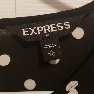 Express Tops - Polka Dot Blouse